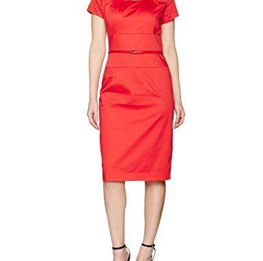 big sale 26c14 29dc7 Business Kleid Daniel Hechter Damen Kleid, Rot (Indian 310 ...