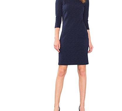 Business Kleid ESPRIT Damen Kleid 106EE1E017, Blau (Navy 400